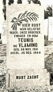 Graf van Teunis (foto Kwartierstaat de Vlaming)
