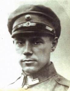 J.E. Kolster kort voor hij werd weggevoerd (collectie mevr. Bax-Kolster)