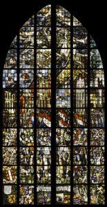 Gedenkraam (28a) in de Sint Janskerk) ontworpen door Charles Eijk. Foto: Stichting Goudse Sint Jan